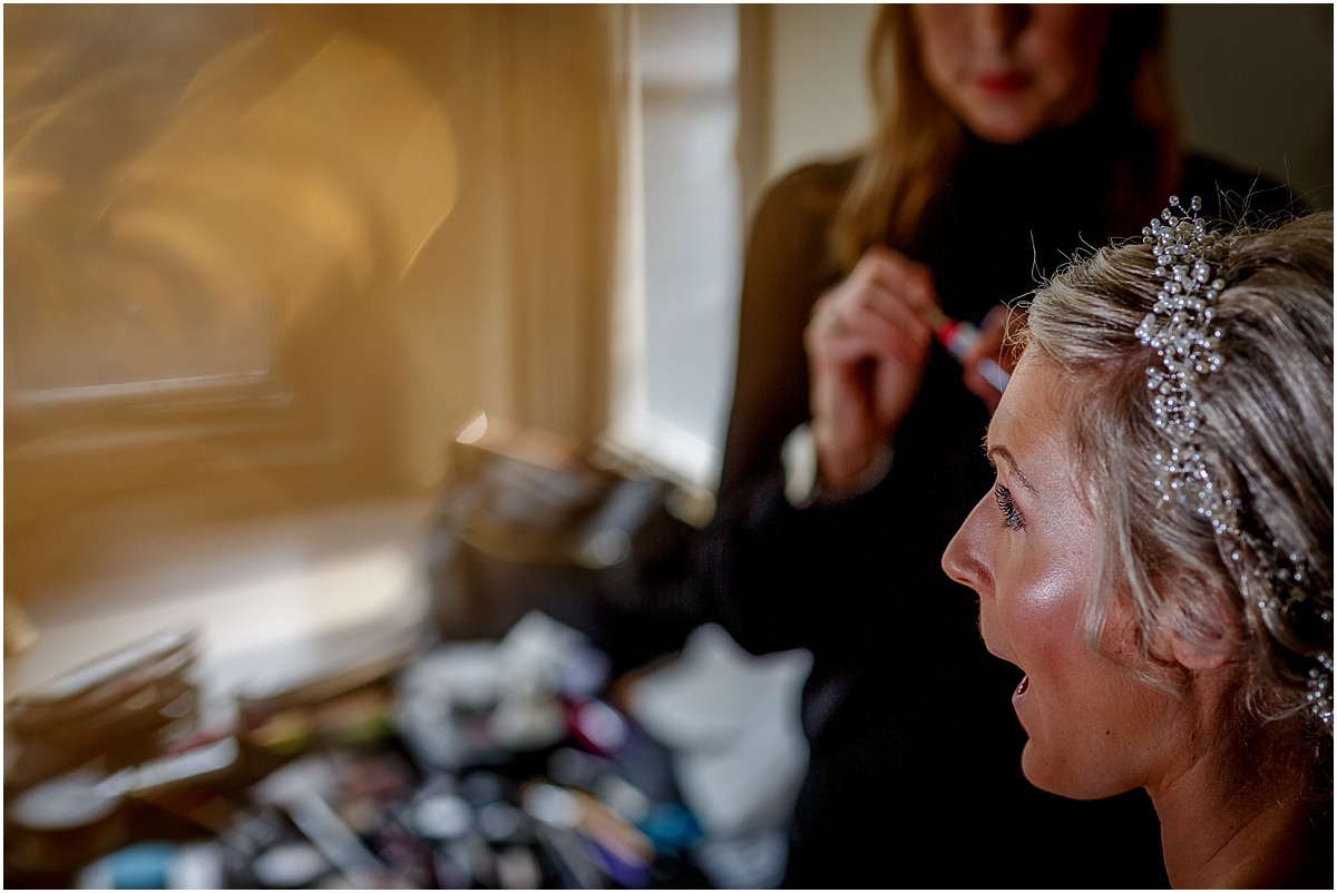 Southdowns Manor Wedding Photography wedding preperation